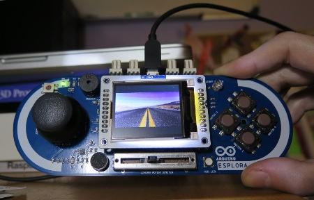 new For arduino Esplora Microcontroller Game Board
