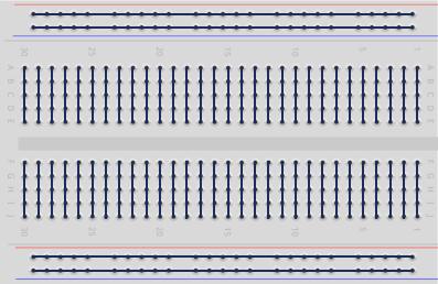 Breadboard wiring