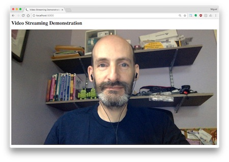 Flask Video Streaming Revisited - miguelgrinberg com